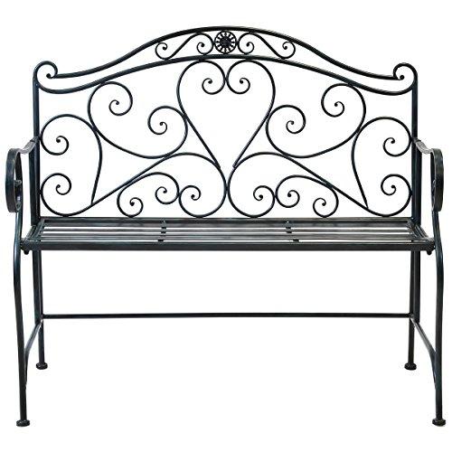 bentley-garden-banc-de-jardin-2-places-fer-forge-noir-antique