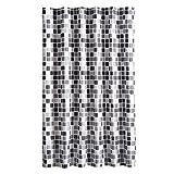 Leisial™ Kreativ Mosaik Polyester Duschvorhänge Herren Duschvorhänge Wasserdicht Badezimmer Duschvorhänge 80*180CM