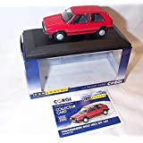 corgi vanguards red volkswagen golf MK2 GTI 16V car 1.43 scale diecast model by Corgi