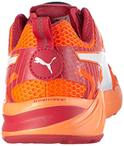 Puma Speed 300 S Disc Adulte mixte Chaussures de course Orange (Fluo Peach/RoseRouge/White)
