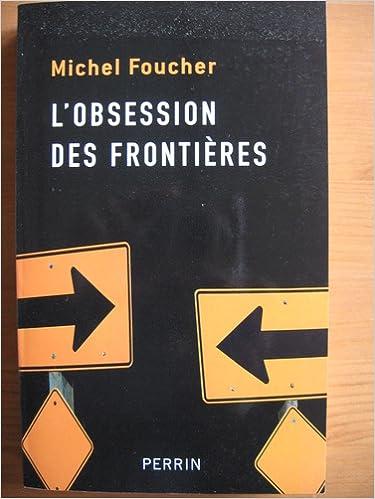 En ligne L'OBSESSION des frontières epub pdf