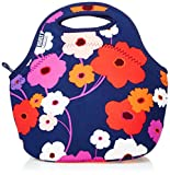 Built NY Gourmet Getaway Bag Lush Flower, Insulated lunch tote, keeps food hot or cold