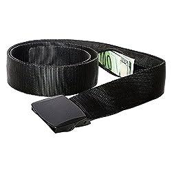 Cinturón de Viaje con Estuche Dinero - Cinturón de Dinero para Viajar (Black)