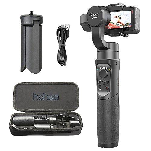 Spezifikationen: Modell: iSteady Pro Neigungswinkel: 320 ° Rollwinkel: 320 ° Schwenkwinkel: 640 ° Batterietyp: Eingebauter18650 4000mAh 3.7V-Akku Laufzeit: 12 Stunden (einmal voll aufgeladen) Kompatible Kameras: Für GoPro Hero 7/2018/6/5/4/3 + / 3, f...