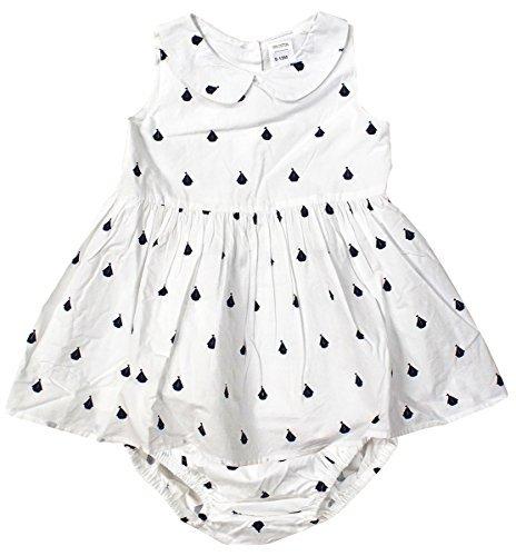 Mädchen Baby Nautische Yacht Kleid & Windelhose Set Winzig Prem Größen von Neugeborene bis 24 Monate - Mehrfarbig, 18-24 Months