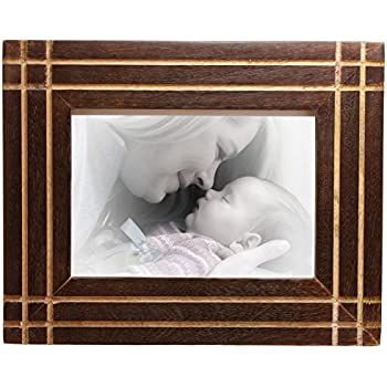 SouvNear Wooden Photo / Picture Frame for A6 /10x15 Centimeter (6x4 ...