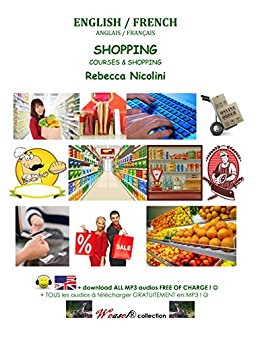 Anglais/Français : Courses & Shopping (Weasel Book 17) (English ...