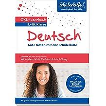 XXL-Lernbuch Deutsch 9./10. Klasse: Gute Noten mit der Schülerhilfe