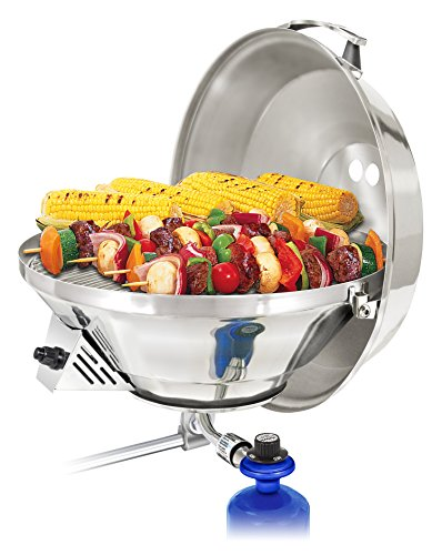 Magma Produkte, Marine Wasserkocher 3, Kombination Herd & Gas Grill, Propan tragbar Ofen -