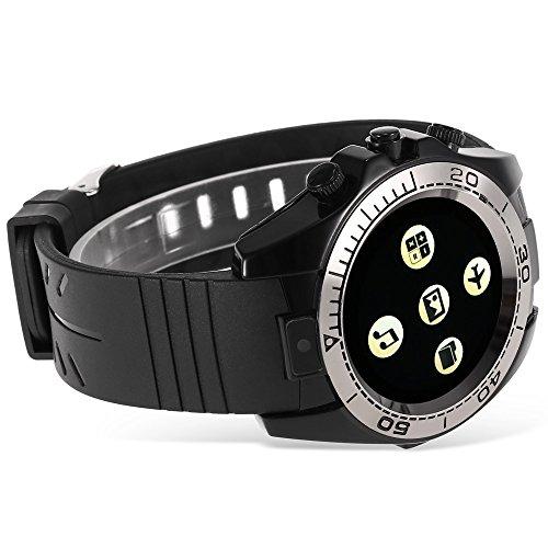 Changsha Hanguang Technologie Ltd Hangang Uhr Telefon Smart Watch Bluetooth Sport Smartwatch Männer Android IOS Kamera tragbare Sim TF Karte ios Smartwatch