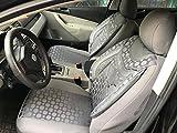 Sitzbezüge k-Maniac | Universal grau | Autositzbezüge Set Komplett | Autozubehör Innenraum | Auto Zubehör für Frauen und Männer | NO1824499 | Kfz Tuning | Sitzbezug | Sitzschoner