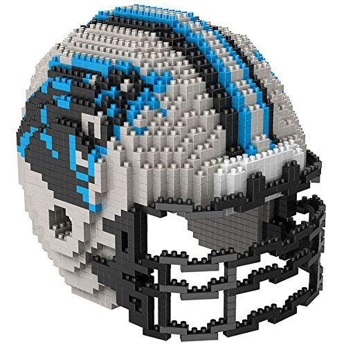 Carolina Panthers NFL Football Team 3D BRXLZ Helm Helmet Puzzle (Spielzeug Panthers Carolina)
