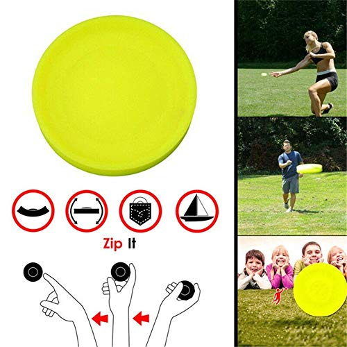 Zip Chip Frisbee Mini Tasche Flexible Soft New Spin Fangspiel Flying Disc Fangspiel Beach Outdoor Toys (1 Pc)