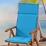 6 x Sun Garden Esdo 50234-140 Hochlehner Auflagen in türkis ohne Stuhl