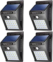 20 LED Solar Light Outdoor Night Wall Lamp PIR Motion Sensor Street Yard Path Home Garden Security Lights Energy Saving