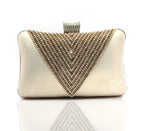 Heart-shaped Diamant-Handtasche/Abendtaschen/Veranstaltungspaket/Braut Clutch/Frau cheongsam Paket-C C