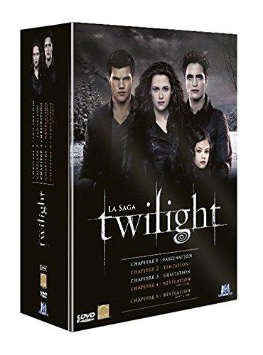 Coffret intégrale twilight : chapitres 1 à 5 [Edizione: Francia]