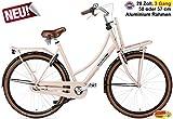 Plezier Damen Hollandrad 3-Gang Daily Dutch Prestige Rosa 57cm
