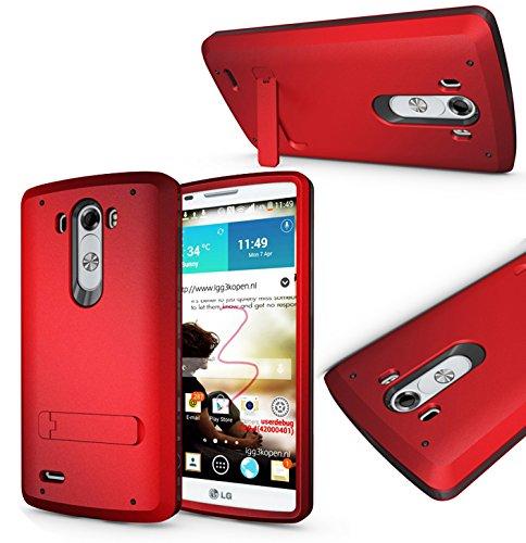 Magic Global Gadgets-Box und Gorilla Fall, rot, LG G3 (D855/D851)