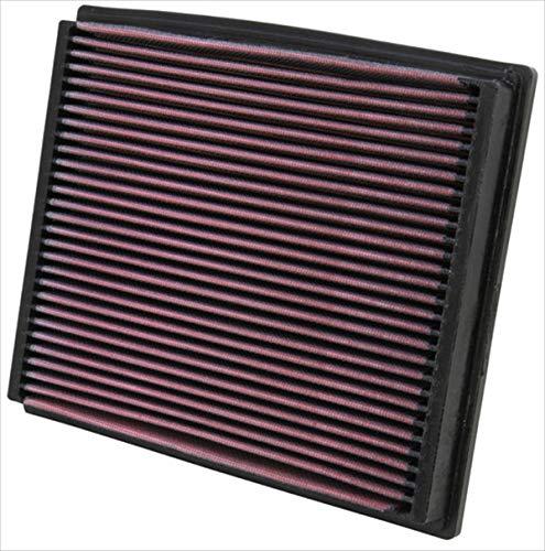 K&N 33-2125 Filtro de Aire Coche, Lavable y Reutilizable