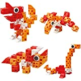 Click-A-Brick Dino Pals 30pc Educational Toys Building Block Set - Best Gift For Boys And Girls