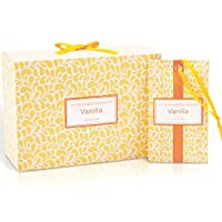 LA BELLEFÉE 14 x Vanilla Scented Sachets Bags for Drawers Closets, Room, Wardrobe, Bathrooms, Cars