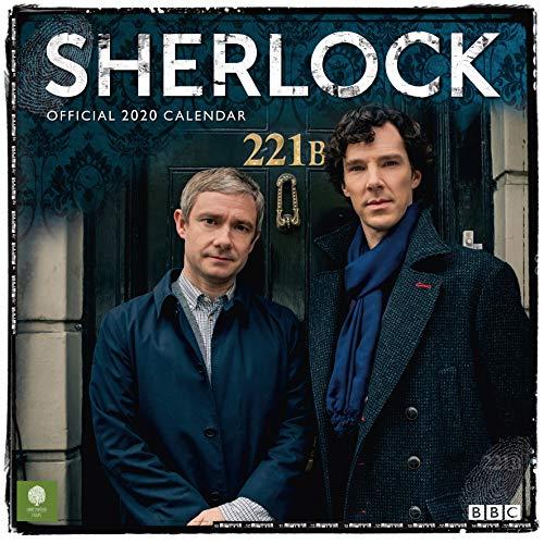 Sherlock 2020 Calendar Official