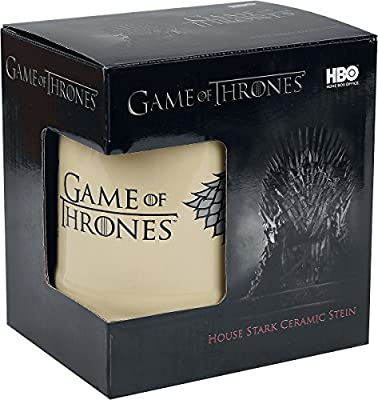 Game of Thrones House Stark Beer Mug beige