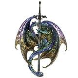 Figurine Dragon Epée du Cauchemar - 35.5 cm