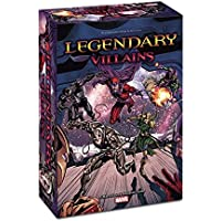 ADC Blackfire Entertainment UD82415 - Kartenspiel, Legendary Villains, A Marvel Deck Building Game, Englisch
