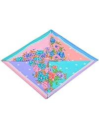 Anshu Creation 100% Cotton Women's Floral Handkerchiefs set of 12.