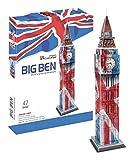 Cubic Fun - 3D Puzzle Big Ben Elizabeth Tower London England in Landesfarben