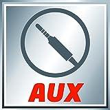 Einhell Akku Radio TE-CR 18 Li Solo Power X-Change (Lithium Ionen, 18 V, AUX inklusive Anschlusskabel für Handy, MP3-Player, ohne Akku und Ladegerät) - 8