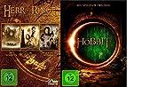Die Hobbit Trilogie [3 DVDs] &Der Herr der Ringe - Die Spielfilm Trilogie [3 DVDs]