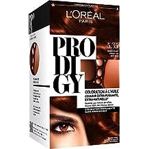 L'Oréal Paris Prodigy color permanente Pintura 5.35 Amoniaco picante de oro libre marrón claro