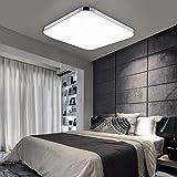 HENGDA® 12W LED Deckenleuchte 85V-265V 50HZ Deckenlampe Panel Lampe Badlampe Wohnzimme Kaltweiß 6000K-6500K