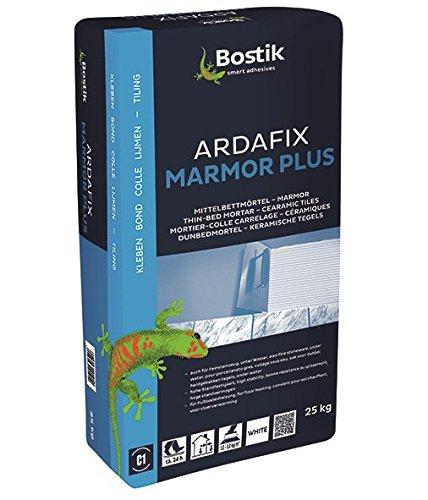 Bostik Ardafix Marmor Plus Ardal Naturstein Mittelbettmörtel Marmor 25 kg Sack