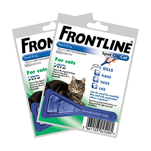 frontline-spot-on-for-cats-2-x-05ml-pipettes