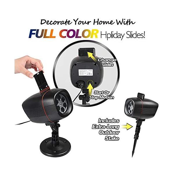 Proiettore Luci Natale Esterno, InnooLight Proiettore Natale con 17 diapositive a tema colorato, IP65 Impermeabile… 5 spesavip