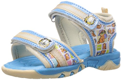 Garfield Boy's Blue Vinyl Sandals and Floaters - 3C UK