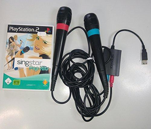 SingStar Original USB-Mikrofone im Doppelpack für PlayStation 2 und 3