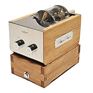 BOCABOCA Coffee Bean Roaster 250 Home Roasting Machine with Cooler Nuts Barista Home Kitchen Cafe & Simple English Guide