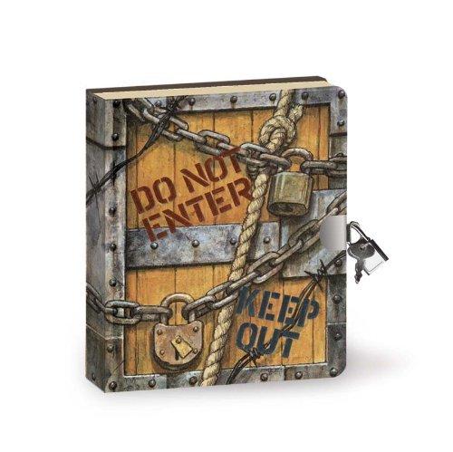 Top Secret - 200 Seiten mit Schloss und Schlüssel - Größe 160mm x 140mm ()