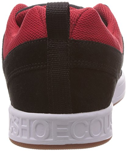 DC LYNXXKRW Herren Sneakers Schwarz (BLACK/RED/WHITE-XKRW)