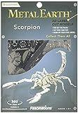 Fascinations Metal Earth MMS070 - 502702, Scorpion, Konstruktionsspielzeug, 1 Metallplatine, ab 14 Jahren