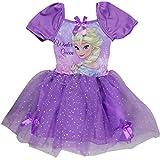Disney Princess Frozen - Vestido - para niña - 52234XXX [Violeta - 9 años - 134 cm]
