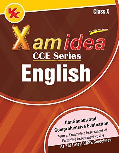 Xam Idea CCE Series English Term-2 Class 10