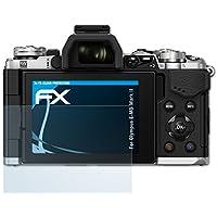 atFoliX Displayschutzfolie für Olympus E-M5 Mark II Schutzfolie - 3 x FX-Clear kristallklare Folie