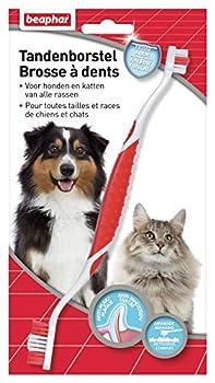 Beaphar - Buccafresh, brosse à dents - hygiène bucco-dentaire - chien et chat