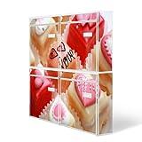 Design Briefkasten Anlage 4 Briefkästen Mailbox mit Motiv: Törtchen